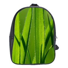 Grass School Bag (xl) by Siebenhuehner