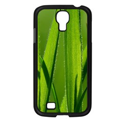 Grass Samsung Galaxy S4 I9500/ I9505 Case (black) by Siebenhuehner
