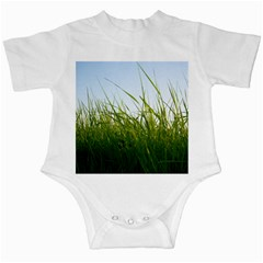 Grass Infant Bodysuit by Siebenhuehner