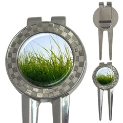 Grass Golf Pitchfork & Ball Marker