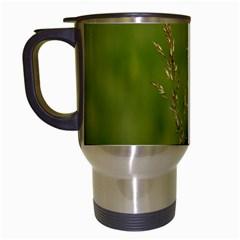 Grass Travel Mug (White) by Siebenhuehner