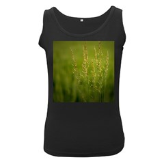 Grass Womens  Tank Top (black) by Siebenhuehner