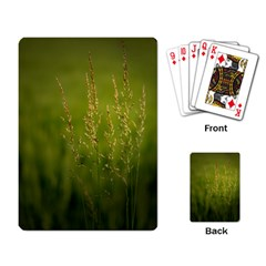 Grass Playing Cards Single Design by Siebenhuehner