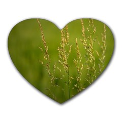 Grass Mouse Pad (heart) by Siebenhuehner