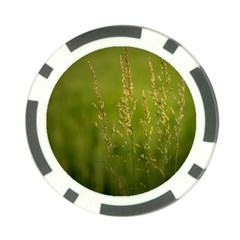 Grass Poker Chip (10 Pack) by Siebenhuehner