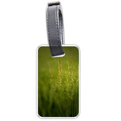 Grass Luggage Tag (two Sides) by Siebenhuehner