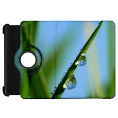 Waterdrops Kindle Fire Hd 7  Flip 360 Case by Siebenhuehner