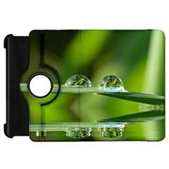 Waterdrops Kindle Fire Hd 7  Flip 360 Case by Siebenhuehner
