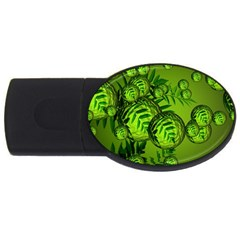 Magic Balls 4gb Usb Flash Drive (oval) by Siebenhuehner