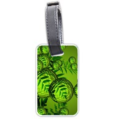 Magic Balls Luggage Tag (one Side)