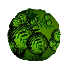 Magic Balls 15  Premium Round Cushion  by Siebenhuehner