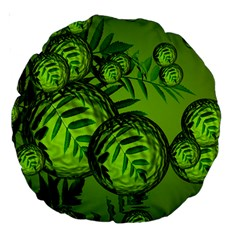 Magic Balls 18  Premium Round Cushion  by Siebenhuehner