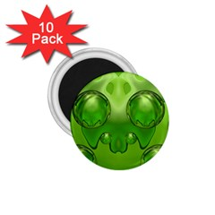 Magic Balls 1 75  Button Magnet (10 Pack) by Siebenhuehner