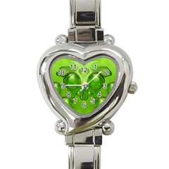 Magic Balls Heart Italian Charm Watch  by Siebenhuehner