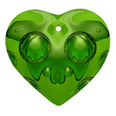 Magic Balls Heart Ornament (two Sides) by Siebenhuehner