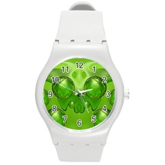 Magic Balls Plastic Sport Watch (medium) by Siebenhuehner