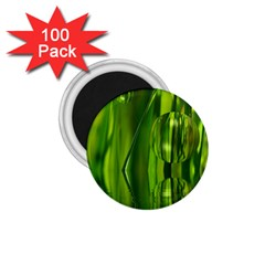 Green Bubbles  1 75  Button Magnet (100 Pack) by Siebenhuehner