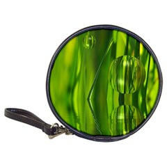 Green Bubbles  Cd Wallet by Siebenhuehner