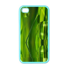 Green Bubbles  Apple Iphone 4 Case (color) by Siebenhuehner