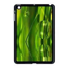 Green Bubbles  Apple Ipad Mini Case (black) by Siebenhuehner