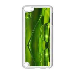 Green Bubbles  Apple Ipod Touch 5 Case (white) by Siebenhuehner