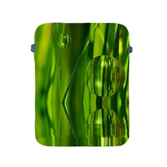 Green Bubbles  Apple Ipad 2/3/4 Protective Soft Case by Siebenhuehner