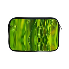 Green Bubbles  Apple Ipad Mini Zipper Case by Siebenhuehner