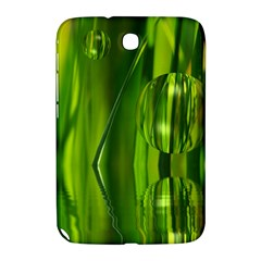Green Bubbles  Samsung Galaxy Note 8 0 N5100 Hardshell Case  by Siebenhuehner