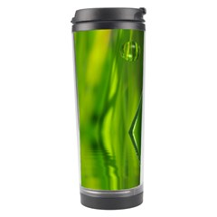 Green Bubbles  Travel Tumbler