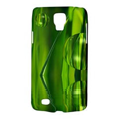Green Bubbles  Samsung Galaxy S4 Active (i9295) Hardshell Case by Siebenhuehner