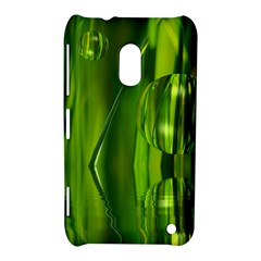 Green Bubbles  Nokia Lumia 620 Hardshell Case by Siebenhuehner