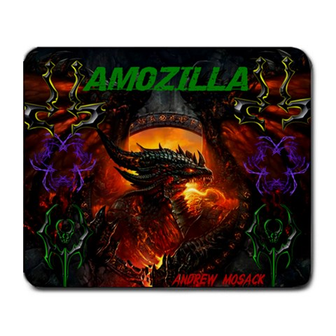 My Pad By Andy Mosack   Collage Mousepad   Gfecif0z9fi5   Www Artscow Com 9.25 x7.75 Mousepad - 1