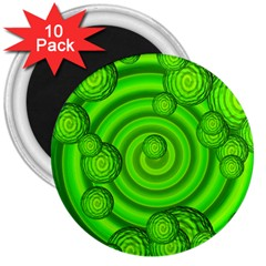 Magic Balls 3  Button Magnet (10 Pack) by Siebenhuehner