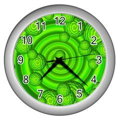 Magic Balls Wall Clock (silver) by Siebenhuehner