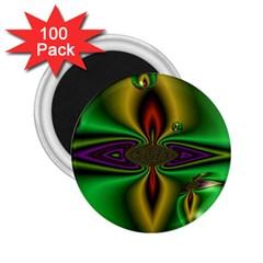 Magic Balls 2 25  Button Magnet (100 Pack) by Siebenhuehner
