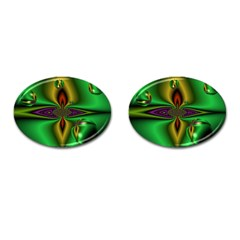 Magic Balls Cufflinks (oval) by Siebenhuehner