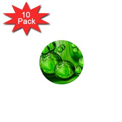 Magic Balls 1  Mini Button Magnet (10 Pack) by Siebenhuehner