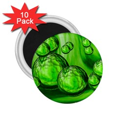 Magic Balls 2 25  Button Magnet (10 Pack) by Siebenhuehner