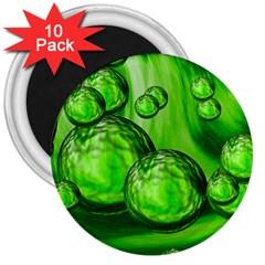 Magic Balls 3  Button Magnet (10 Pack) by Siebenhuehner