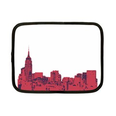 Skyline Netbook Case (small) by PaolAllen