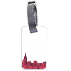 Skyline Luggage Tag (one Side)