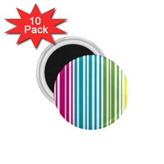Color Fun 1 75  Button Magnet (10 Pack) by PaolAllen
