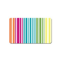Color Fun Magnet (name Card) by PaolAllen