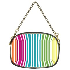 Color Fun Chain Purse (one Side)