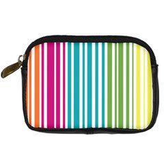 Color Fun Digital Camera Leather Case by PaolAllen