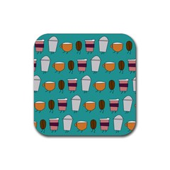 Time For Coffee Drink Coasters 4 Pack (square) by PaolAllen