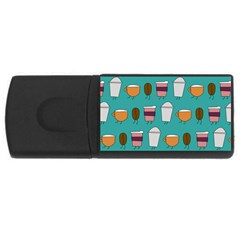 Time for coffee 4GB USB Flash Drive (Rectangle) by PaolAllen