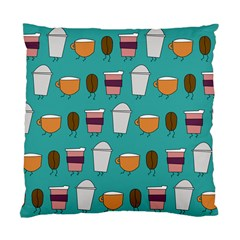 Time For Coffee Cushion Case (single Sided)  by PaolAllen