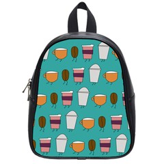 Time for coffee School Bag (Small) by PaolAllen