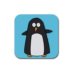 Hello Penguin Drink Coasters 4 Pack (square) by PaolAllen